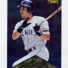 1996 Pinnacle FOIL Baseball #245 Vinny Castilla - Colorado Rockies