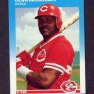 1987 Fleer Update Baseball #074 Lloyd McClendon RC - Cincinnati Reds
