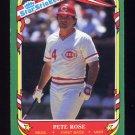 1987 Fleer Sticker Cards Baseball #102 Pete Rose - Cincinnati Reds