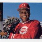1994 Upper Deck Baseball #222 Reggie Sanders - Cincinnati Reds