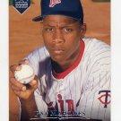 1995 Upper Deck Electric Diamond Baseball #429 Pat Mahomes - Minnesota Twins