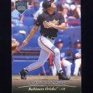 1995 Upper Deck Electric Diamond Baseball #368 Andy Van Slyke - Baltimore Orioles