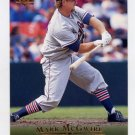 1995 Upper Deck Baseball #035 Mark McGwire - Oakland A's