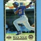 1997 Upper Deck Baseball Rock Solid Foundation #RS14 Alex Ochoa - New York Mets