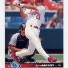 1997 Upper Deck Baseball #163 John Mabry - St. Louis Cardinals