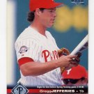 1997 Upper Deck Baseball #155 Gregg Jefferies - St. Louis Cardinals