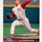 1997 Upper Deck Baseball #047 Pete Schourek - Cincinnati Reds