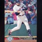 1997 Upper Deck Baseball #026 Roger Clemens - Boston Red Sox