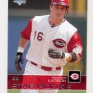 2003 Upper Deck Baseball #005 Brandon Larson SR - Cincinnati Reds