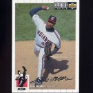 1994 Collector's Choice Baseball Silver Signature #205 Jose Mesa - Cleveland Indians