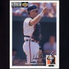 1994 Collector's Choice Baseball Silver Signature #140 Chris Hoiles - Baltimore Orioles