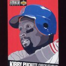 1994 Collector's Choice Baseball #319 Kirby Puckett CL - Minnesota Twins