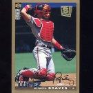 1995 Collector's Choice SE Baseball Gold Signature #063 Javier Lopez - Atlanta Braves