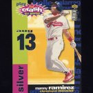 1995 Collector's Choice Baseball Crash The Game #16B Manny Ramirez - Cleveland Indians