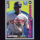 1995 Collector's Choice SE Baseball Silver Signature #258 Kenny Lofton - Cleveland Indians