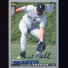 1995 Collector's Choice SE Baseball Silver Signature #209 Dante Bichette - Colorado Rockies