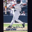 1995 Collector's Choice SE Baseball Silver Signature #160 Tony Gwynn - San Diego Padres