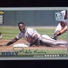 1995 Collector's Choice SE Baseball Silver Signature #061 Roberto Kelly - Atlanta Braves