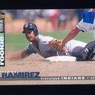1995 Collector's Choice SE Baseball #117 Manny Ramirez - Cleveland Indians