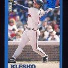 1995 Collector's Choice SE Baseball #062 Ryan Klesko - Atlanta Braves
