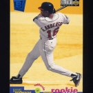 1995 Collector's Choice SE Baseball #012 Garret Anderson - California Angels