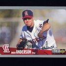 1996 Collector's Choice Baseball Silver Signature #076 Brian Anderson - California Angels