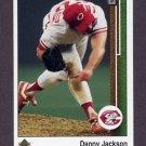 1989 Upper Deck Baseball #640 Danny Jackson - Cincinnati Reds