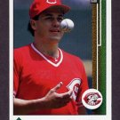 1989 Upper Deck Baseball #449 Frank Williams - Cincinnati Reds