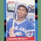1988 Donruss Baseball #659 Geronimo Berroa RC - Toronto Blue Jays