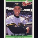 1992 Donruss Rookies Baseball #121 Tim Wakefield RC - Pittsburgh Pirates