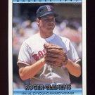 1992 Donruss Baseball Bonus Cards #BC3 Roger Clemens CY - Boston Red Sox