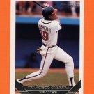 1993 Topps Gold Baseball #769 Francisco Cabrera - Atlanta Braves