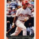 1993 Topps Gold Baseball #712 Stan Javier - Philadelphia Phillies
