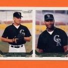 1993 Topps Gold Baseball #621 Mike Kotarski / Greg Boyd RC - Colorado Rockies