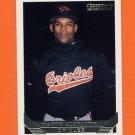 1993 Topps Gold Baseball #587 Manny Alexander - Baltimore Orioles