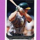 1993 Topps Gold Baseball #548 Lance Blankenship - Oakland A's