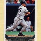 1993 Topps Gold Baseball #422 J.T. Snow RC - New York Yankees