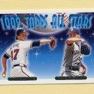 1993 Topps Gold Baseball #410 Tom Glavine / Dave Fleming AS