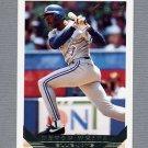 1993 Topps Gold Baseball #387 Devon White - Toronto Blue Jays