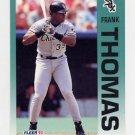 1992 Fleer Baseball #100 Frank Thomas - Chicago White Sox