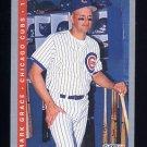 1993 Fleer Baseball #020 Mark Grace - Chicago Cubs