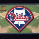1995 Pacific Prisms Baseball Team Logo #24 Philadelphia Phillies