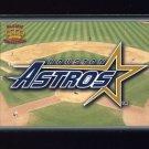 1995 Pacific Prisms Baseball Team Logo #20 Houston Astros