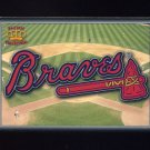 1995 Pacific Prisms Baseball Team Logo #15 Atlanta Braves