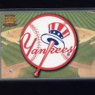 1995 Pacific Prisms Baseball Team Logo #10 New York Yankees