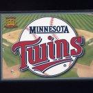 1995 Pacific Prisms Baseball Team Logo #09 Minnesota Twins