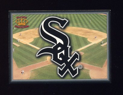1995 Pacific Prisms Baseball Team Logo #04 Chicago White Sox