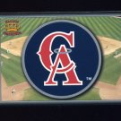 1995 Pacific Prisms Baseball Team Logo #03 California Angels