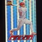 1995 Pacific Prisms Baseball #110 Tom Marsh - Philadelphia Phillies