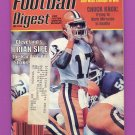 Football Digest January 1984 with Brian Sipe of the Cleveland Browns on the Cover